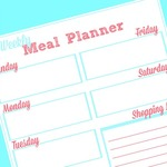 Weekly meal planner printable convertkit