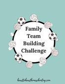 Family team building challenge
