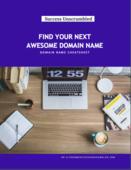 Domain name cheat sheet cover