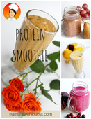 Protein smoothie cover