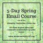 5 day spring email course