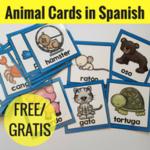 Animal cards 2 x 2