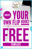 Free flipbook template course link