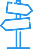 Roadmap sign