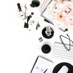 Blush black and white styled desktop styled stock images sc stockshop002 2 400x400