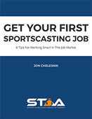 Get your first sportscasting job 180