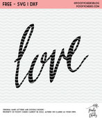 Love cut file