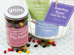 Jelly bean jar gift 10 compressor