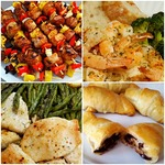 Food newsletter collage