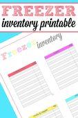 Freezer inventory printable 679x1024