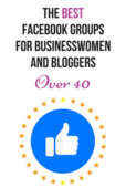 Opt in picture for the best facebook groups for businesswomen   bloggers over 40