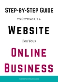 Step by step guide to setting up a website