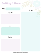 Let's do this to do list printable