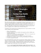 Strategies for facing spiritual battles pdf