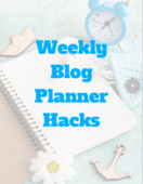 Weekly blog planner hacks cover   shot