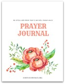 Be still and know prayer journal 450