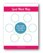 Goal mind map freebie 4