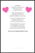 Copy of tiny fingerprints mother's day poem lihp