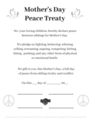 Mother's day peace treaty image