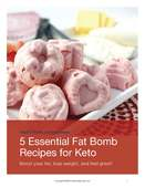 5 best keto fatbomb recipes cover   health home and happiness  page 01