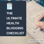 Health blogging checklist (1)
