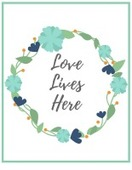 Love lives here image 155x200