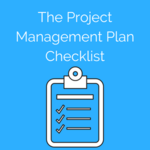 The project management plan checklist.convertkit form