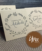 Place cards for convert kit