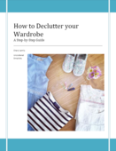 How to declutter your wardrobe pdf image