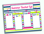 Printable summer bucket list for form