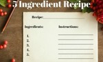 5 ingredient recipe 200x120
