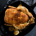 Homemade roasted chicken  8