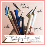 Calligraphy supplies %28square cover2%29 smaller