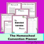 The homeschool convention planner