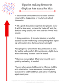 Copy of tips for making fireworks less scary for toddlers and young kids* talk about fireworks ahead of time  no one likes surprises in the form of loud booms and explosions. talk about what fireworks are and what th