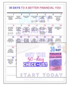 30 day money challenge 4