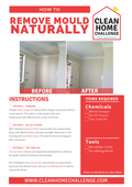 How to remove mould naturally   clean home challenge
