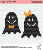 Ghosts with bows