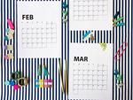 2019 free printable calendar lri 300px