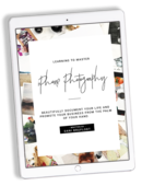 Iphone photography ebook by thyme is honey