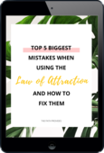 Top 5 biggest mistakes   law of attraction   the path provides