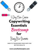 Copywriting essentials bootcamp opt