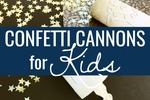 Confetti cannons for kids