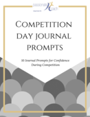 Competition day journal prompts
