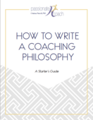 Coaching philosophy cover