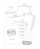 Purpose blog planner free ver500