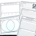 Martin luther king free notebooking pages writing prompts