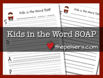 Kids in the word soap