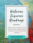 Welcome sequence roadmap cover
