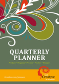 Go creative planner cover front